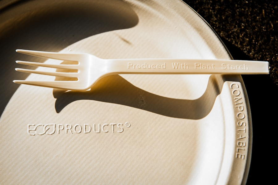 Eco-Friendly and compostable plates and silverware