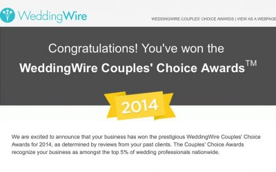 2014 Couples' Choice Award Winner | Wedding Photography