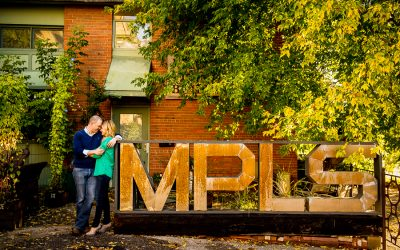 Sarah & Colin | Minneapolis Engagement Session