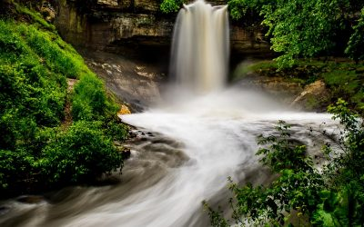 Minnehaha Falls / Minneapolis Landscape Photography