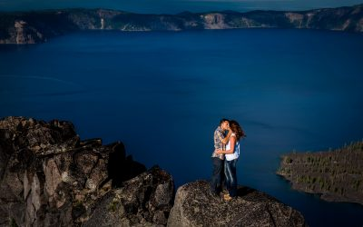 Mollie & Tim / Crater Lake Engagement Session