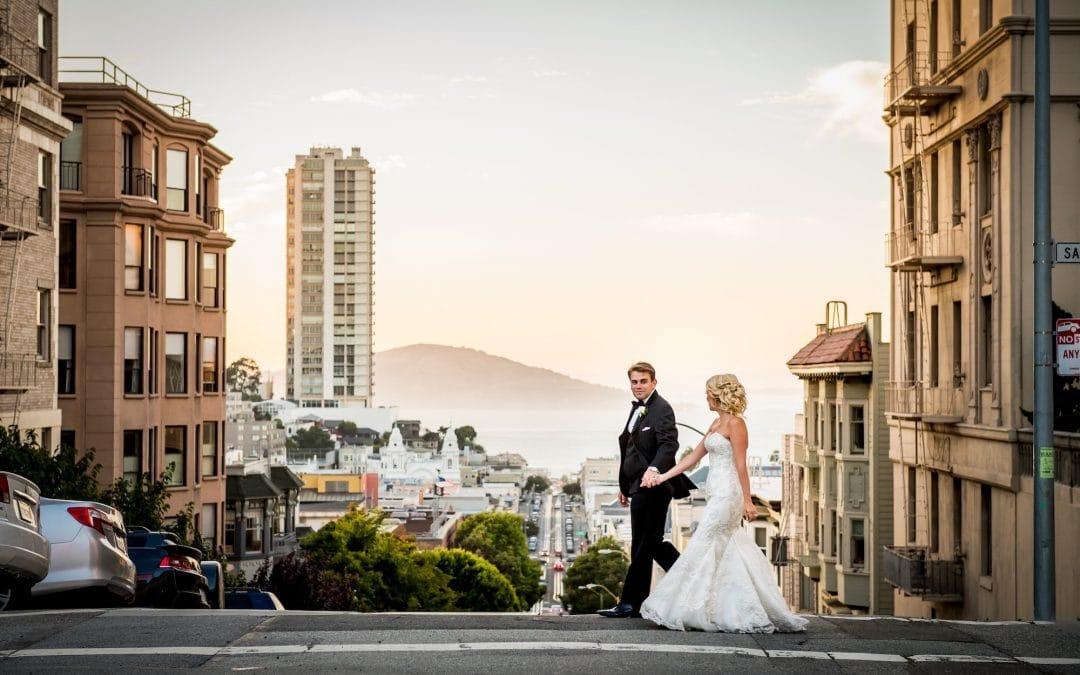 Elegant Black Tie Wedding in San Francisco at the Mark Hopkins Hotel