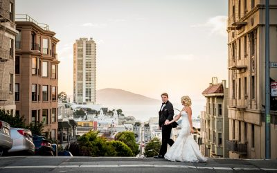Elegant Black Tie Wedding in San Francisco at the Mark Hopkins Hotel
