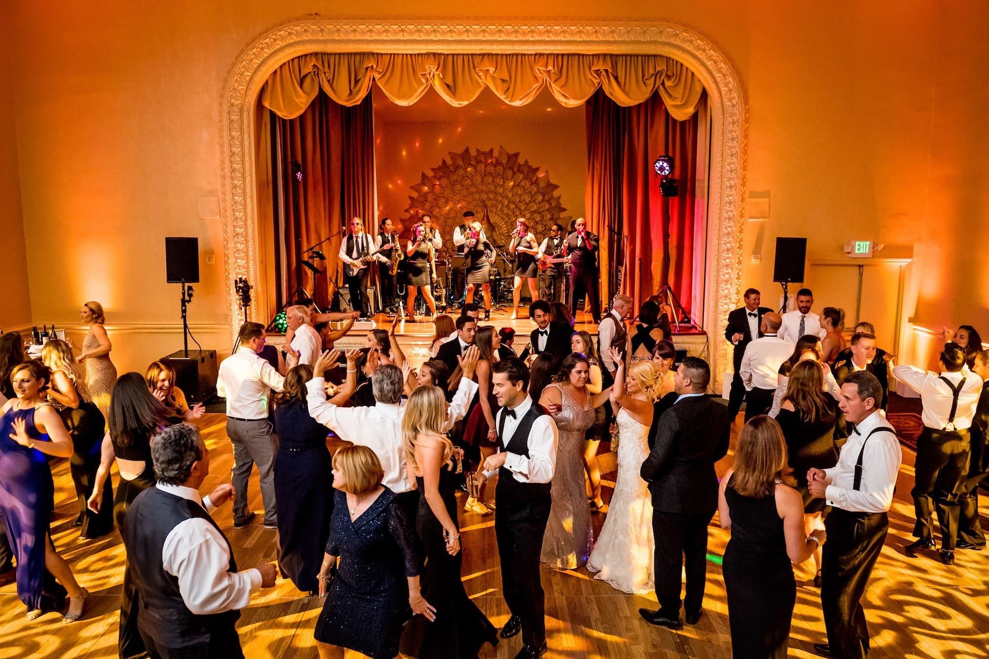 mark hopkins hotel wedding reception