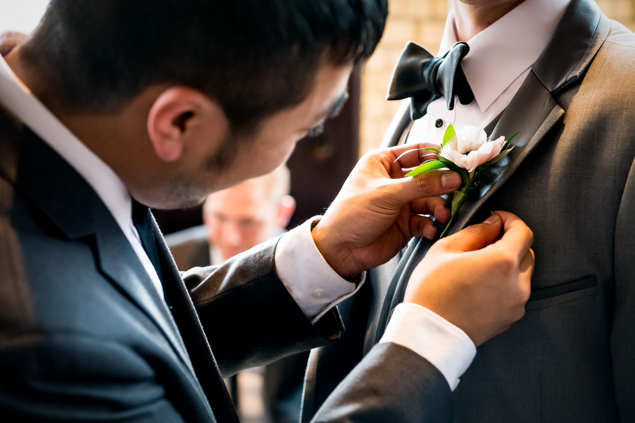 Grooms boutonniere by Artemisia Studios
