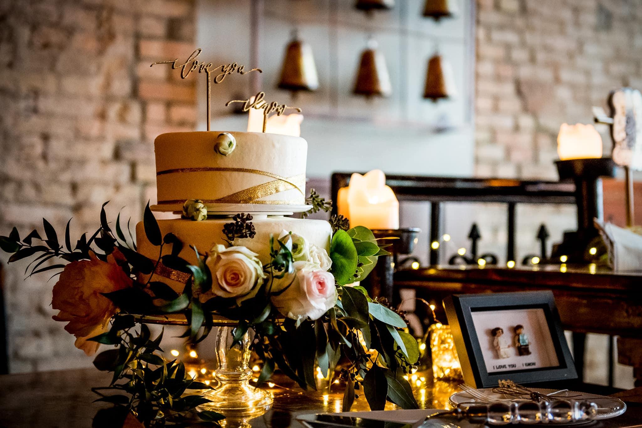 Aster Cafe Wedding Cake 2