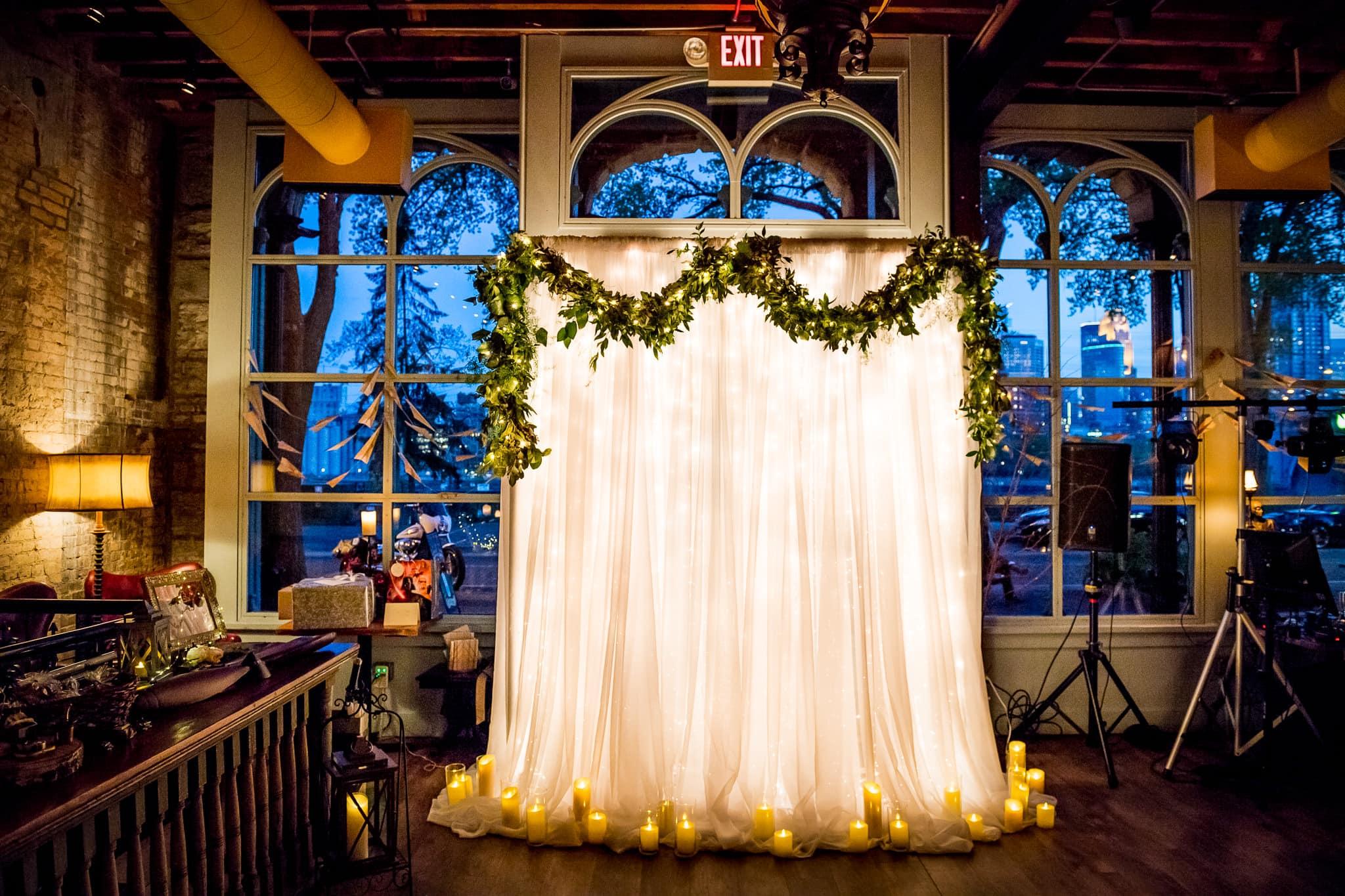 Aster Cafe Wedding Photos Alter Shot