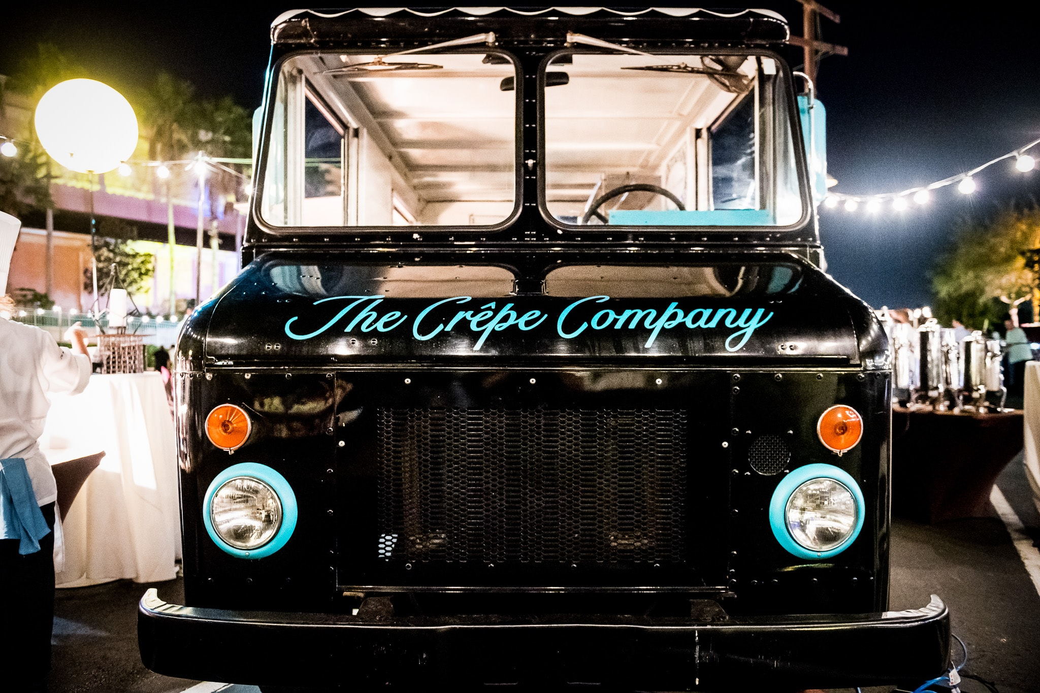The Crepe Company Food Truck at the Food Truck party celebrating EY employees