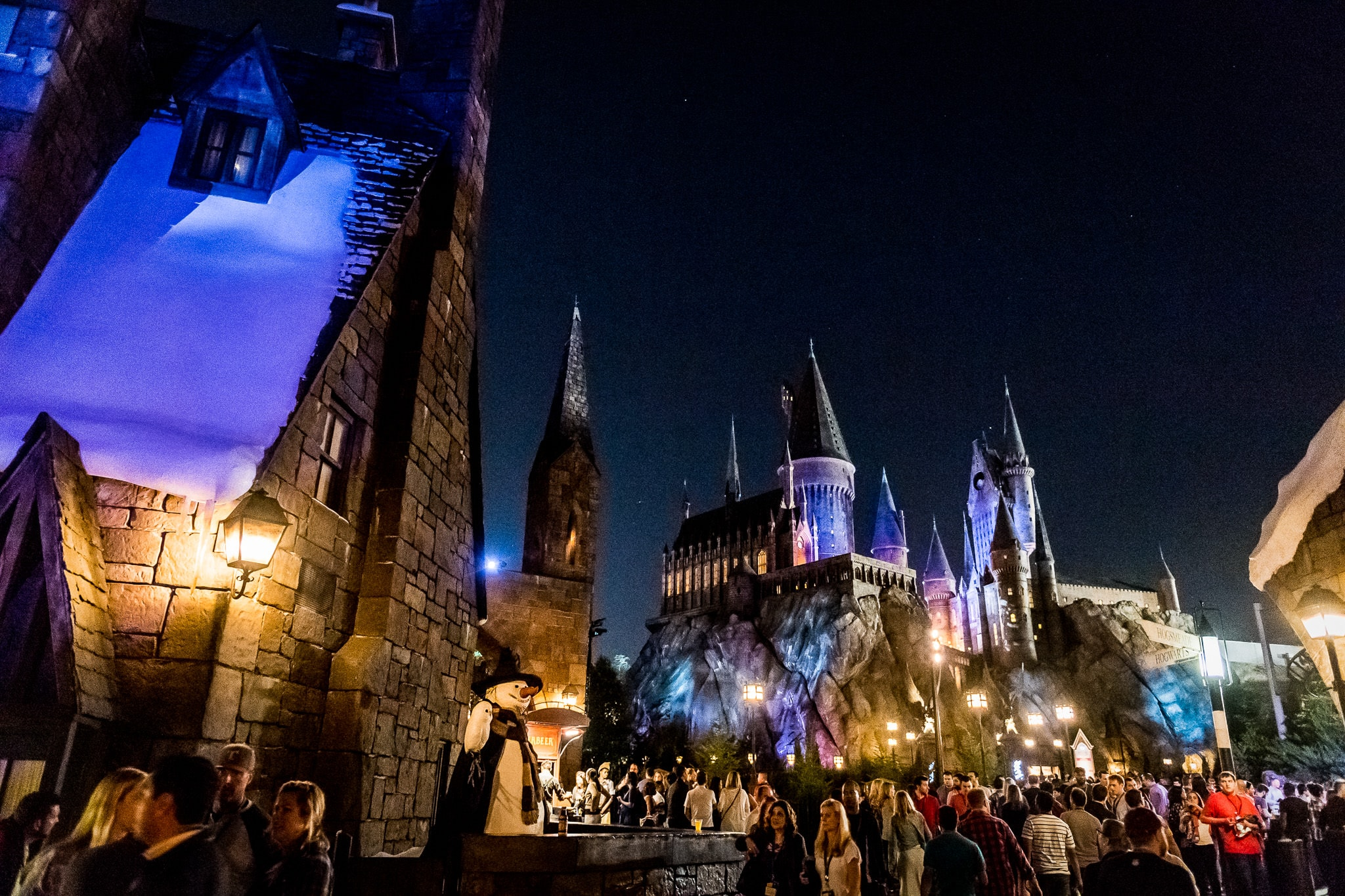 Corporate employees enjoying their company party at The Wizarding World of Harry Potter